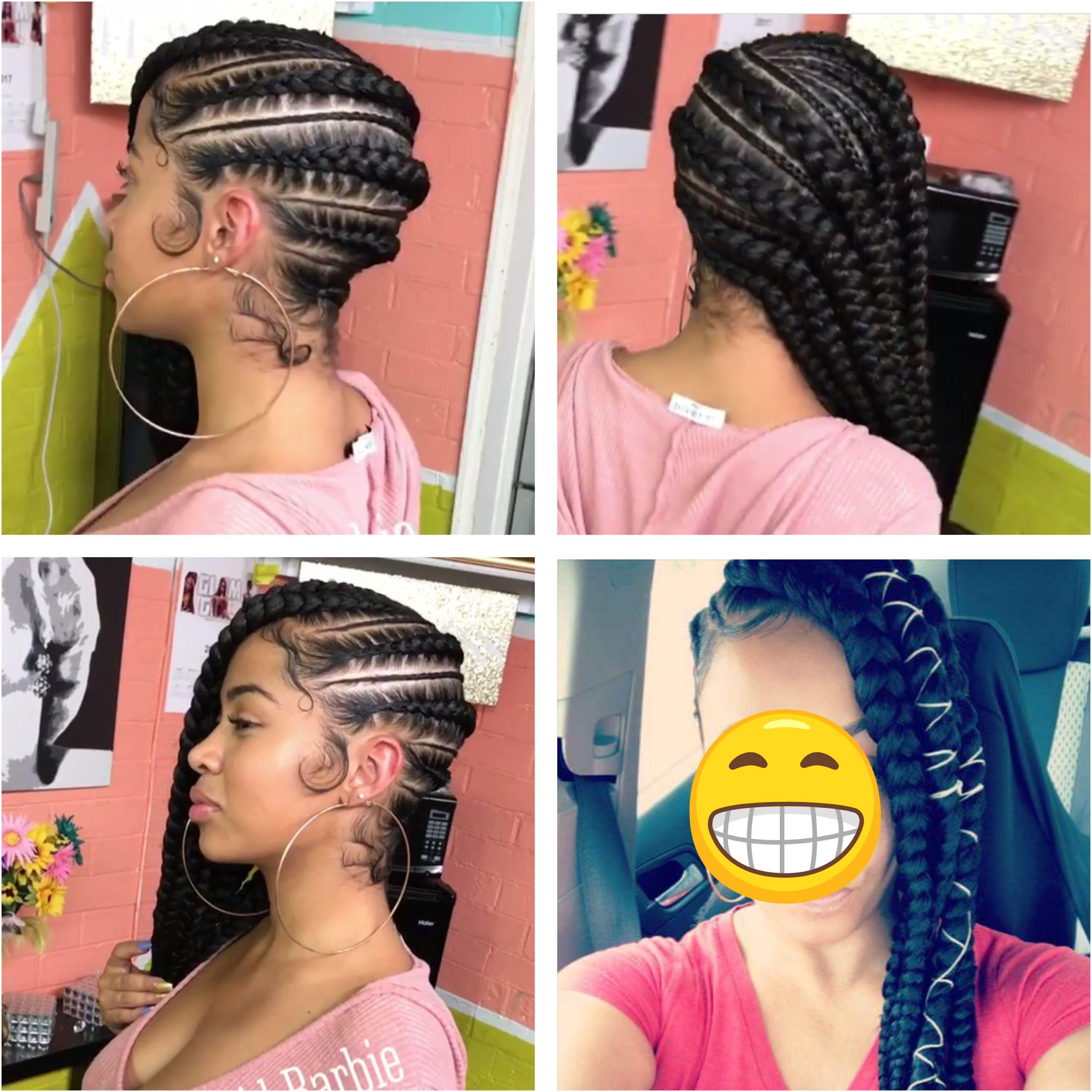 Lemonade braids jumbo  BRAIDS  in   Pinterest  Black girls