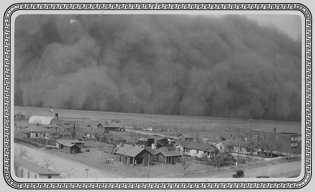 Historical context for lit - dust bowl