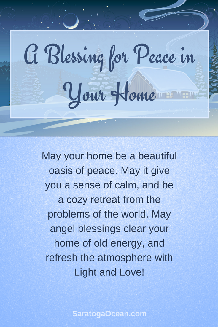 Here Is A Blessing For You To Experience Peace And Serenity In Your Home May It Be A Beautiful O Blessed Quotes Into The Woods Quotes Morning Greetings Quotes