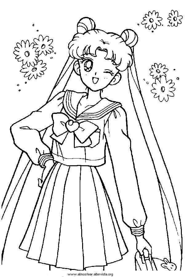 Disegni Da Colorare Sailormoon Colouring Pages Sailor Moon