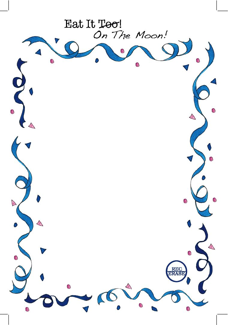 audio birthday greeting card border