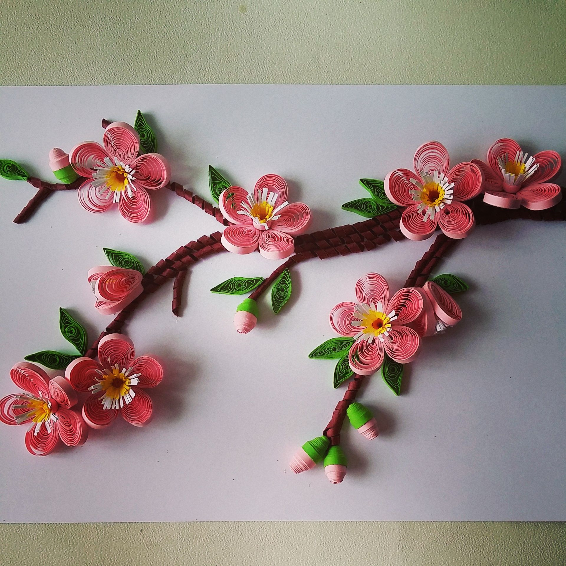 Cherry Blossom Quilling Dolls Quilling Craft Quilling Art