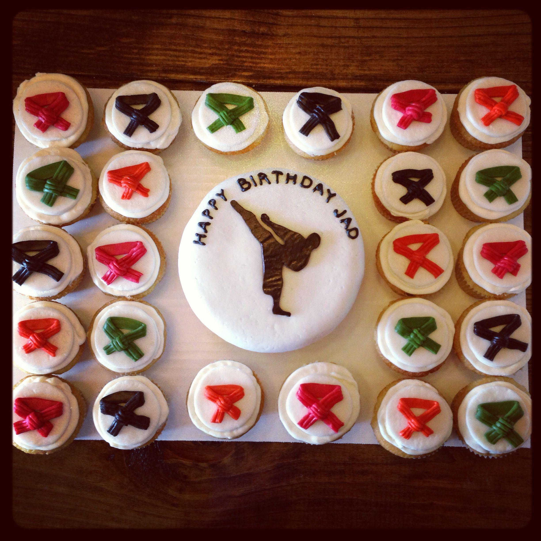 Karate Cakes Pinterest