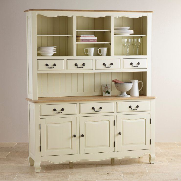 Fusing style and practicality, this gorgeous dresser is influenced by French Provincial design and finished in smooth cream. Shop the exclusive range now.