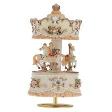 Windup Carousel Music Box Artware/Gift Castle in the Sky Golden R7T7