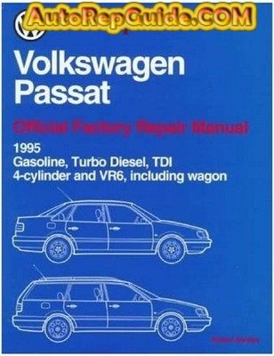 download free volkswagen passat official service manual 1995 1997