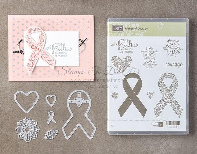 Big Shot Premium-wiederverwendbarer Caring for Womens Cancer Logo Pattern