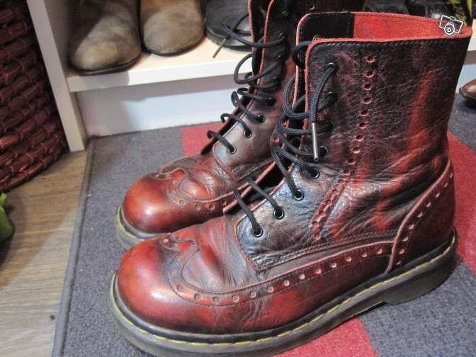Doc Martens steampunk vintage Bottes, Chaussure, Style Doc Martens, Lianes,  Dr Martens 6fae4f8bb357