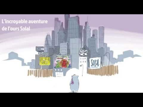 Histoire audio et animée - L'incroyable aventure de l'ours Solal - Livre...
