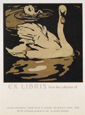 "William Nicholson ""The Beautiful Swan""] Bookplate"