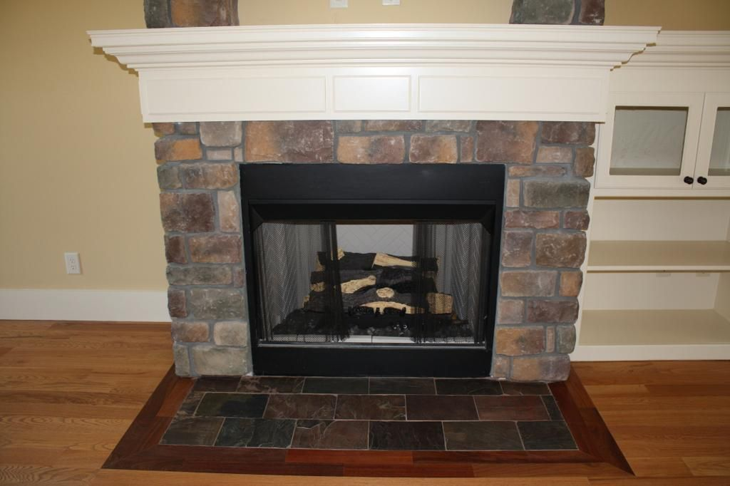 mantle fireplace facade - Google Search | Home projects ...
