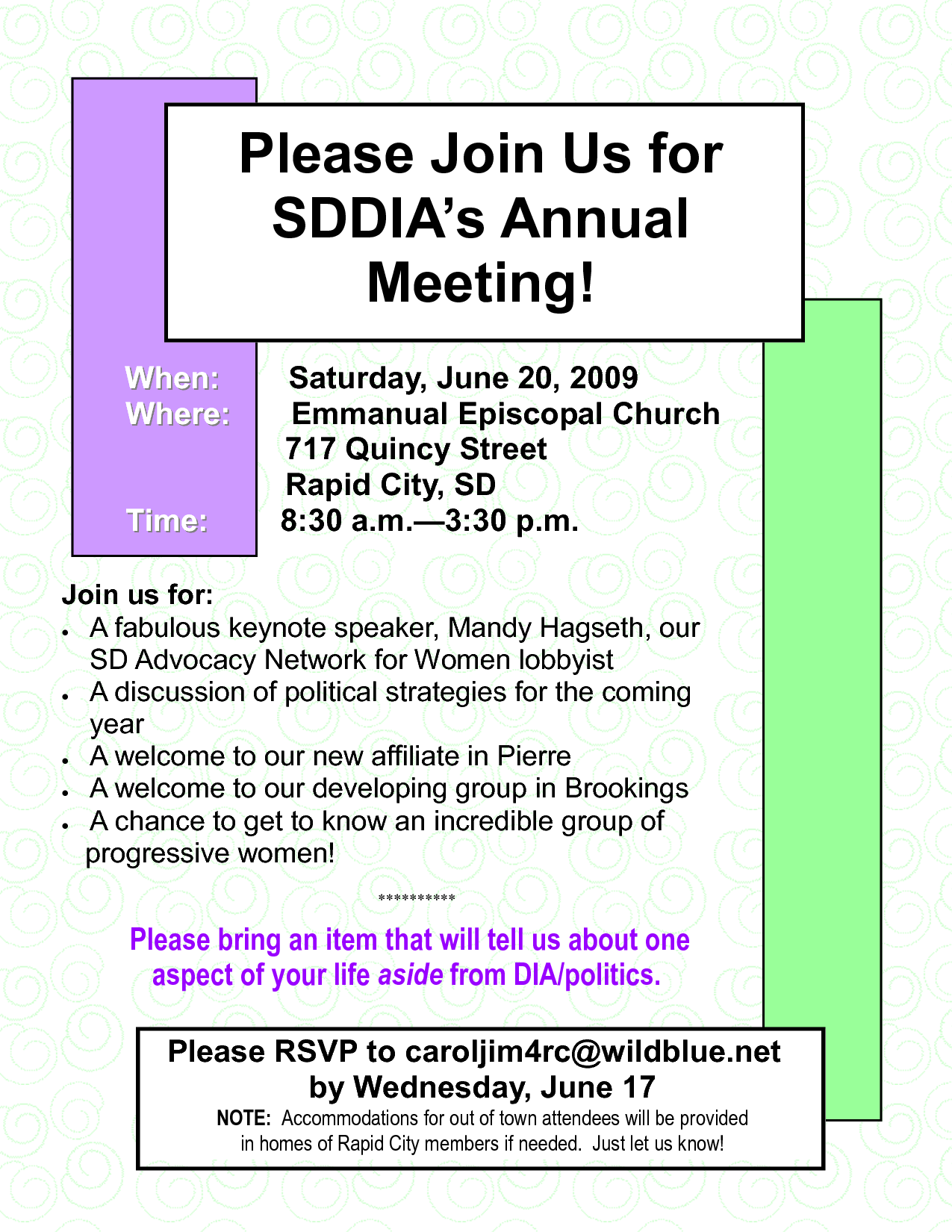 Meeting Invitation Letter Annual Meeting Invitation