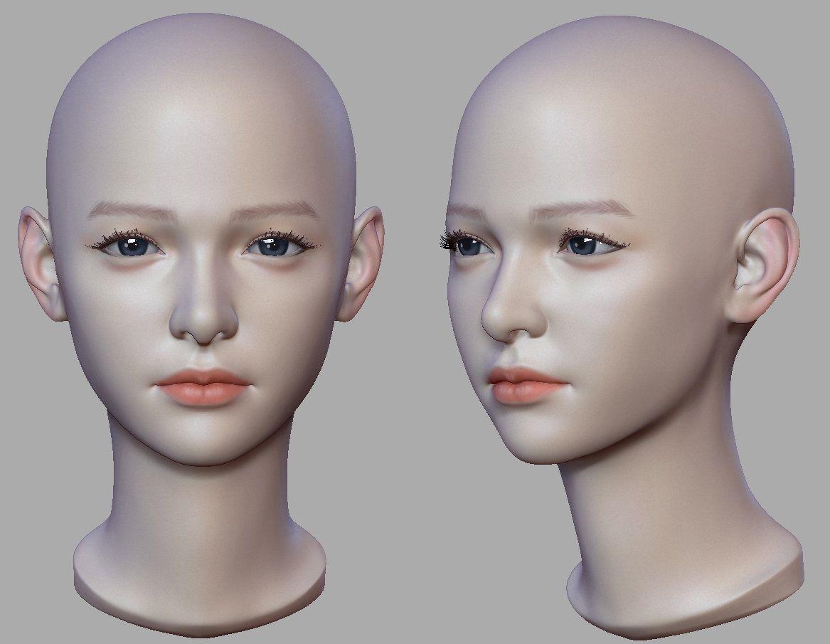ArtStation - head, June Ho Cho