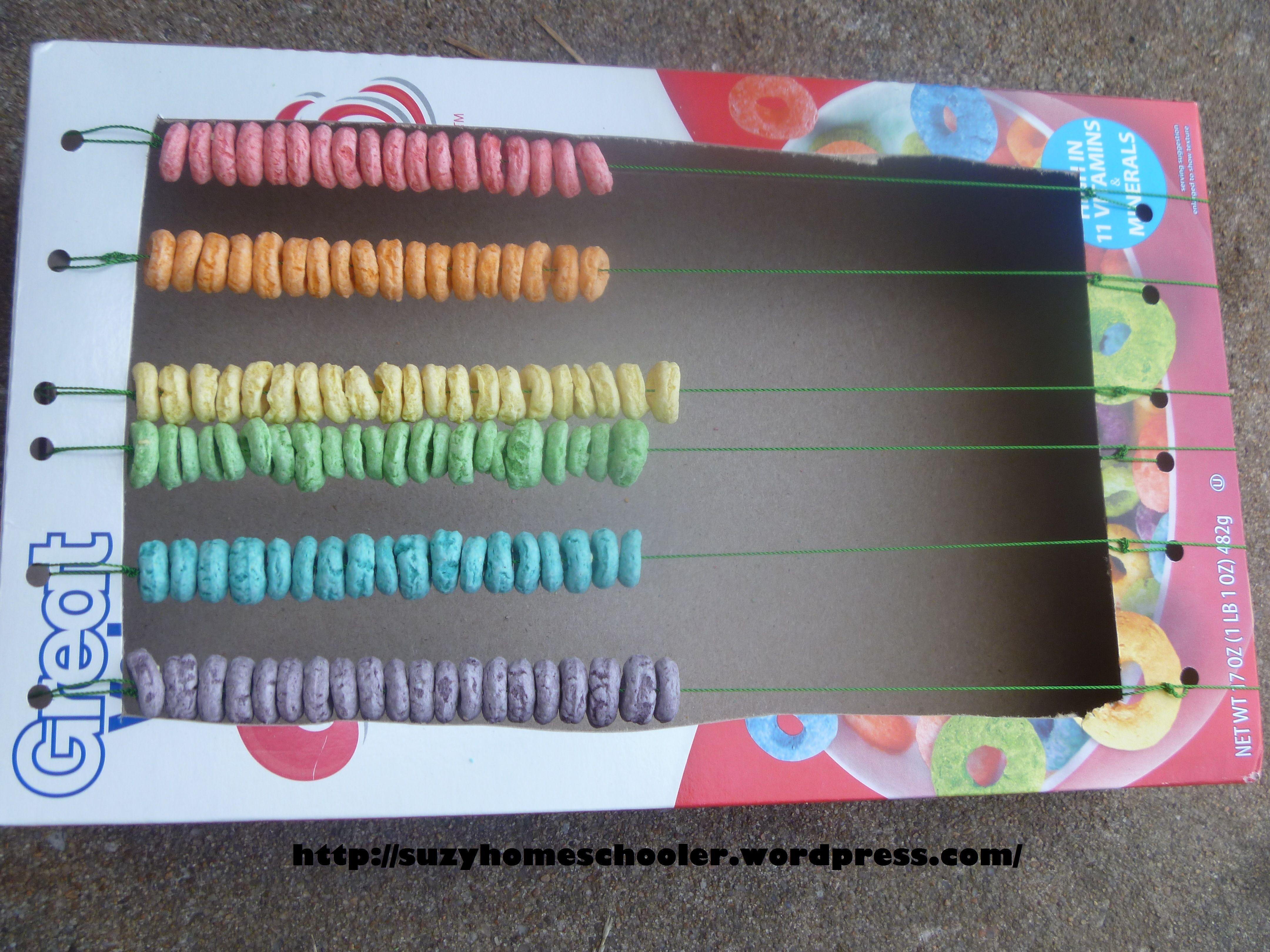 25 Fruit Loop Activities From Suzy Homeschooler Cereal