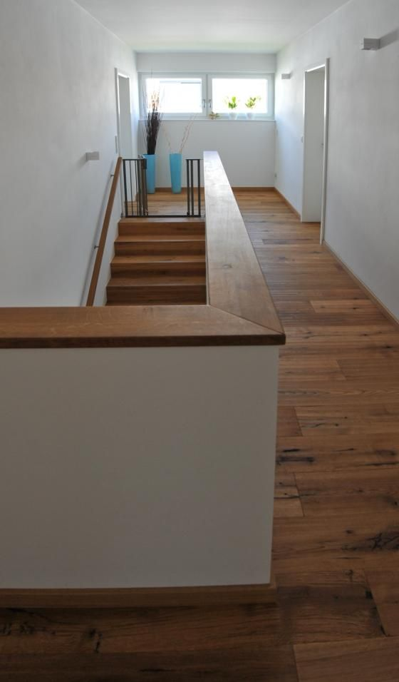 ein modernes architektenhaus heimerl bau sch nthal stairs treppen pinterest treppe. Black Bedroom Furniture Sets. Home Design Ideas