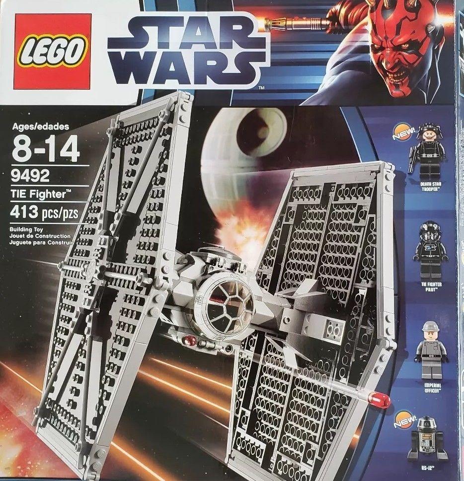 Lego Star Wars Figur Tie Fighter Pilot »NEU« aus 9492