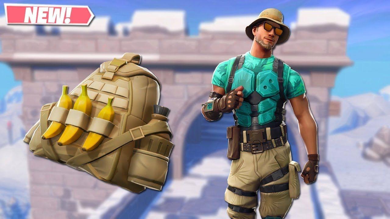New Marino Skin Gameplay New Leaked Skins On Fortnite Fortnite