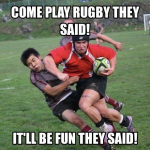 Funny Memes About Rugby Rugby Workout Rugby Training Rugby Jokes