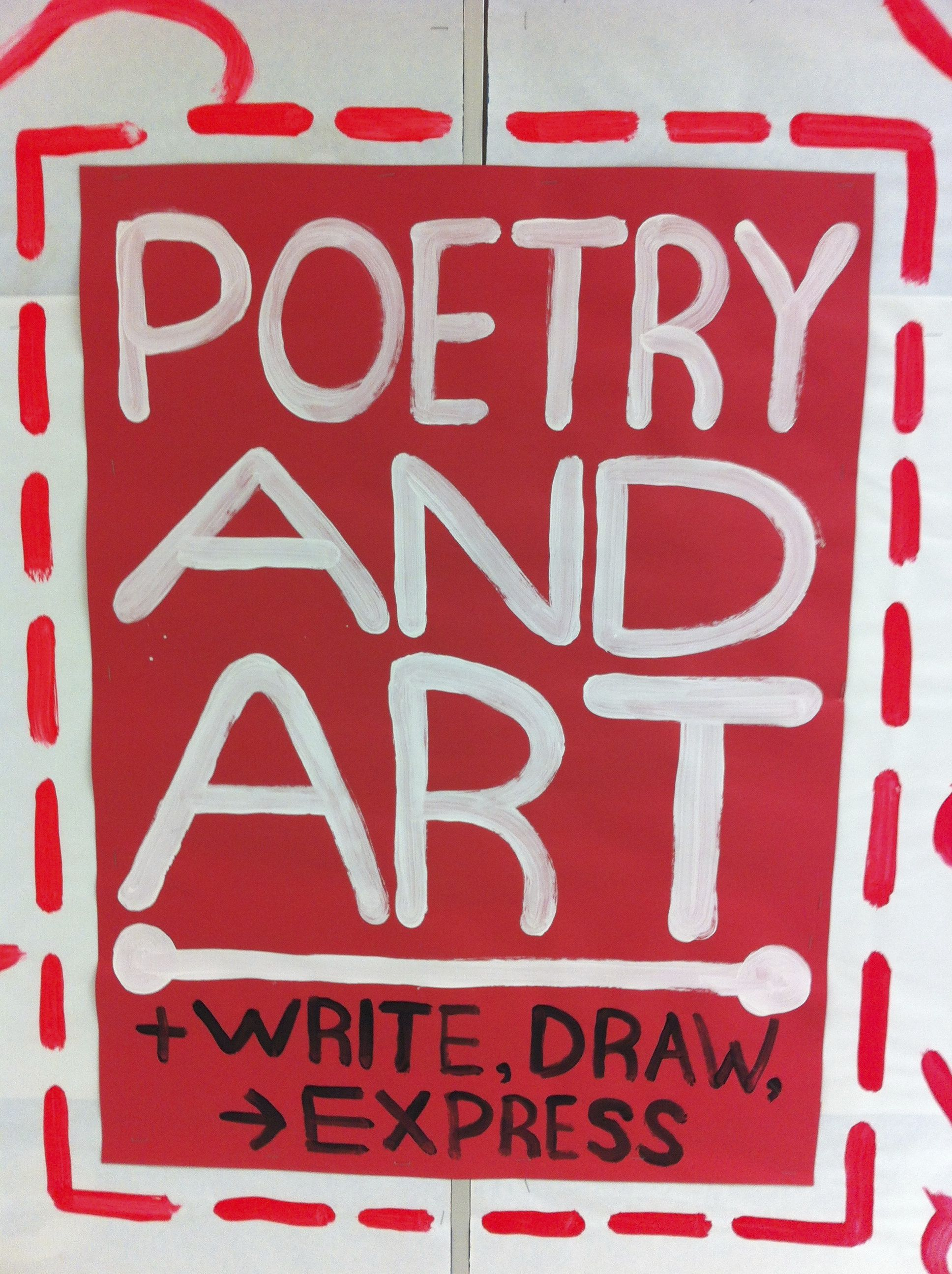 Art Amp Poetry 2nd Grade