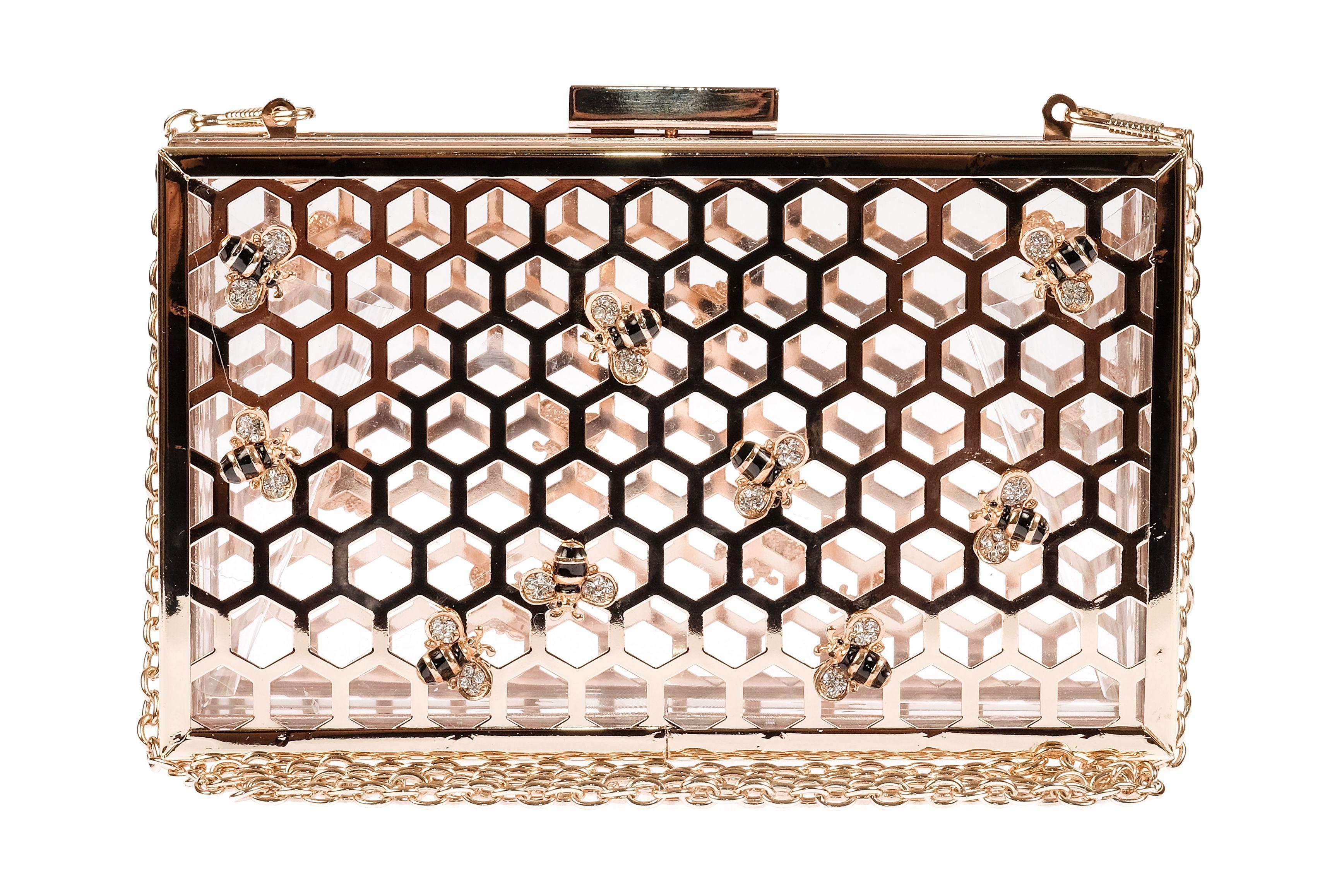 Skinnydip London Bee Clutch Bag  #skinnydip #skinnydiplondon #clutch #bag #fashion www.skinnydiplondon.com