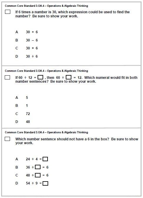 Test Yourself Can You Answer These 3rd Grade Math Problems