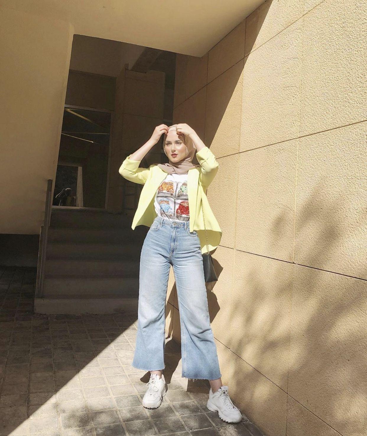 Pin oleh Sima Dana di Hijab | Gaya model pakaian, Pakaian ...