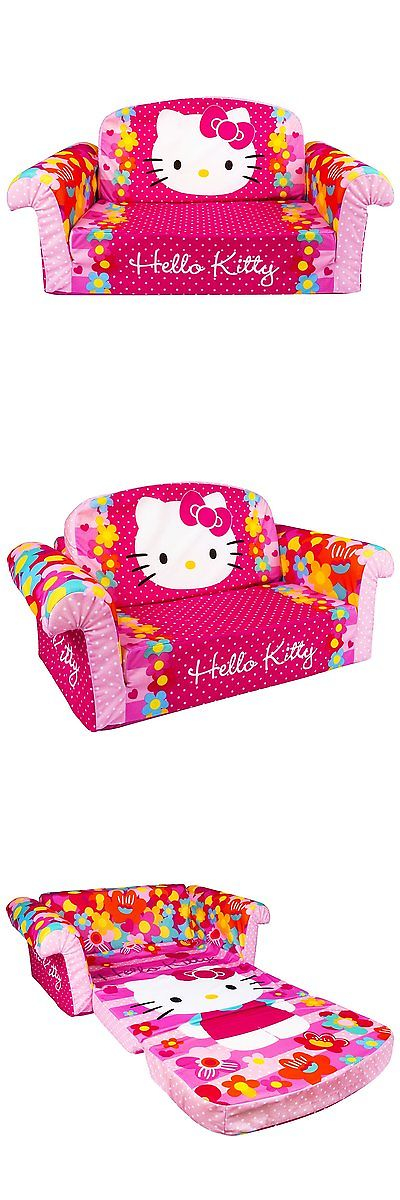 Cheap Sectional Sofas Sofas and Armchairs New Hello Kitty Plush Kids Chair Fold Out Padded Sofa Bed