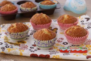 Muffin soffici al kinder