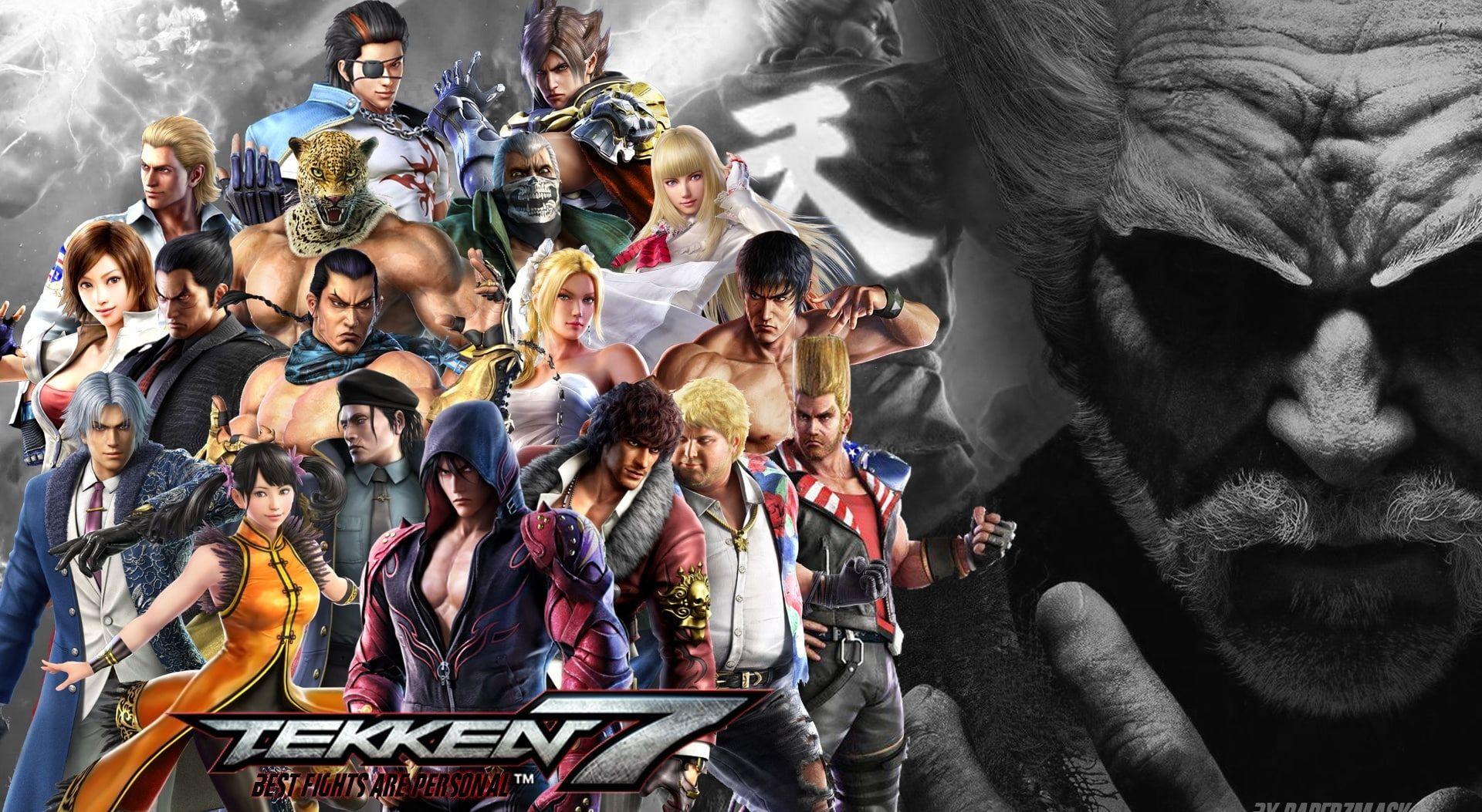 Tekken 7 Games Other Games Game Tekken Jin Kazama Tekken 7 1080p Wallpaper Hdwallpaper Desktop Tekken 7 Jin Kazama Hd Wallpaper