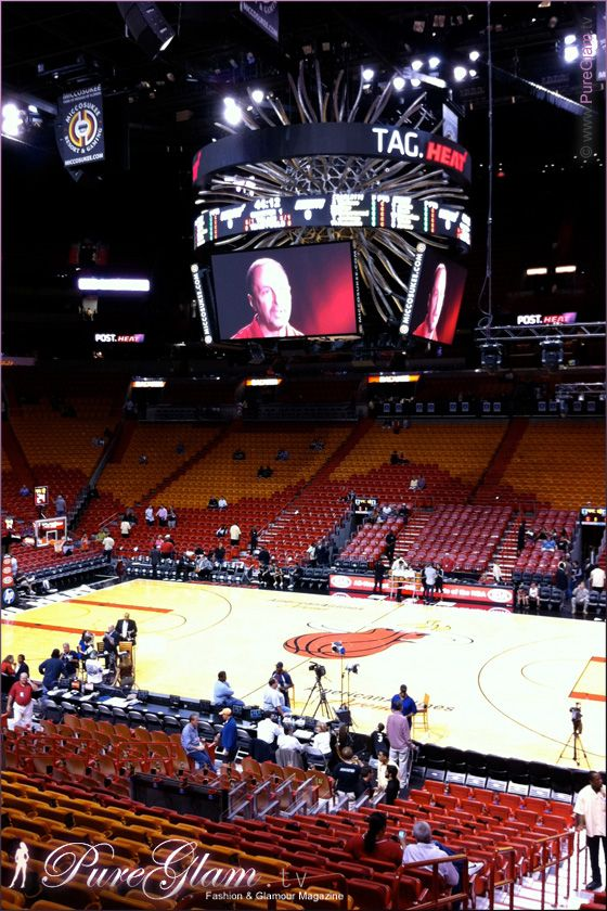 Basketball NBA Season Game Miami Heat at American