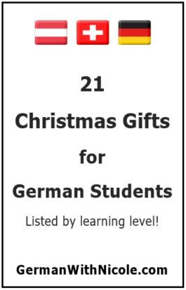 German Christmas Gifts.Shopping For Christmas Gifts For A German Student Be Sneaky