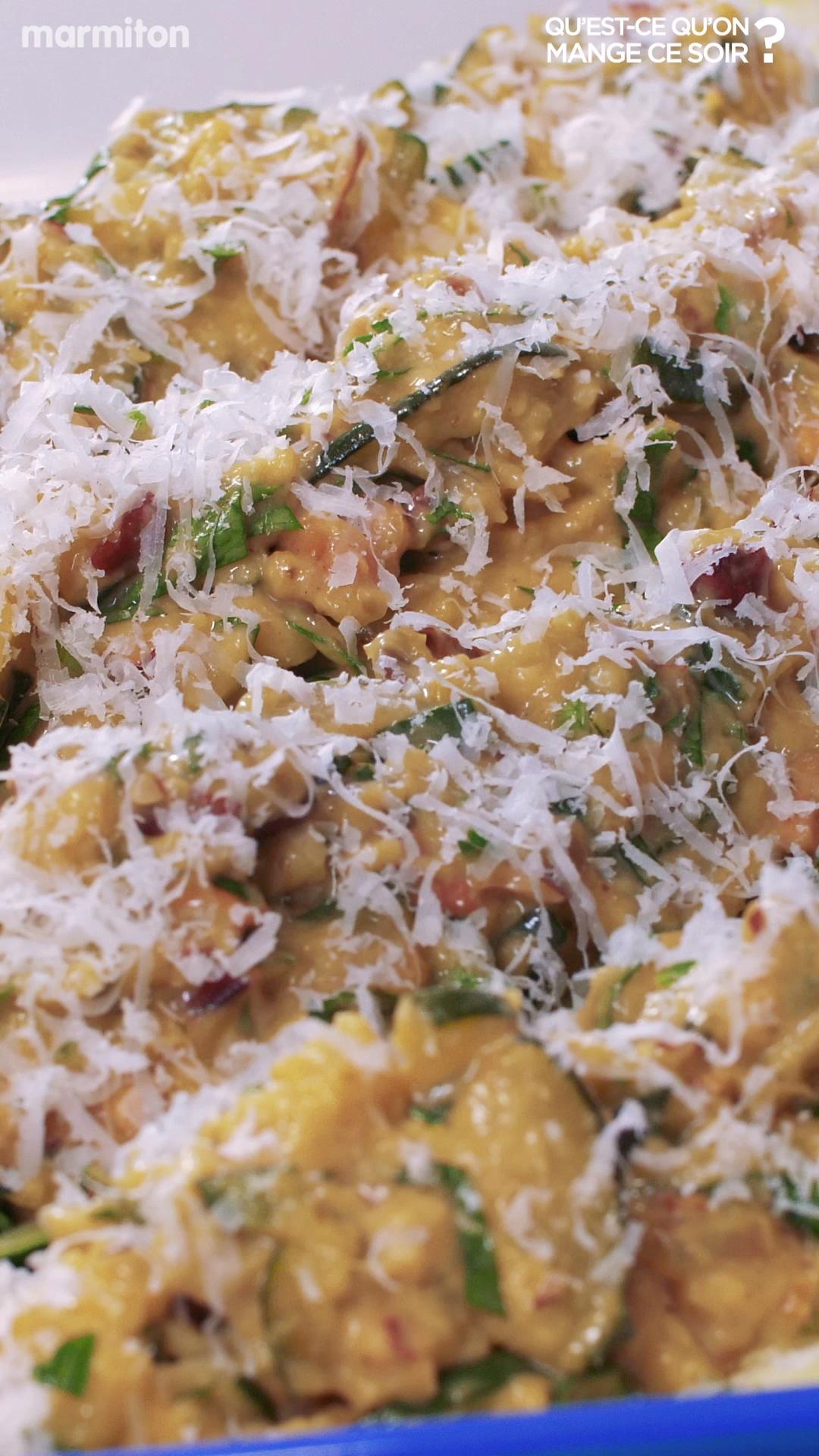 Courgettes farcies… à la courgette en 20 minutes