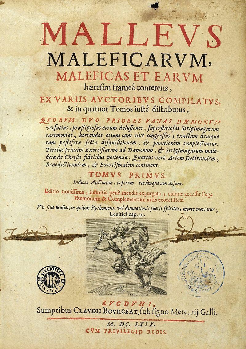 Malleus Maleficarum.