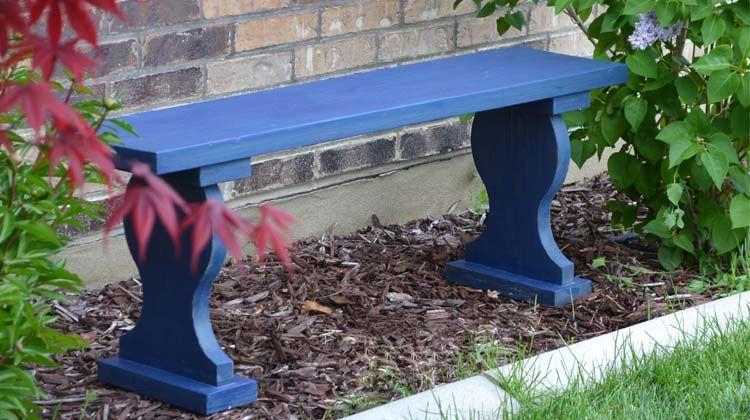 Outdoor Garden Bench -   25 did garden bench ideas
