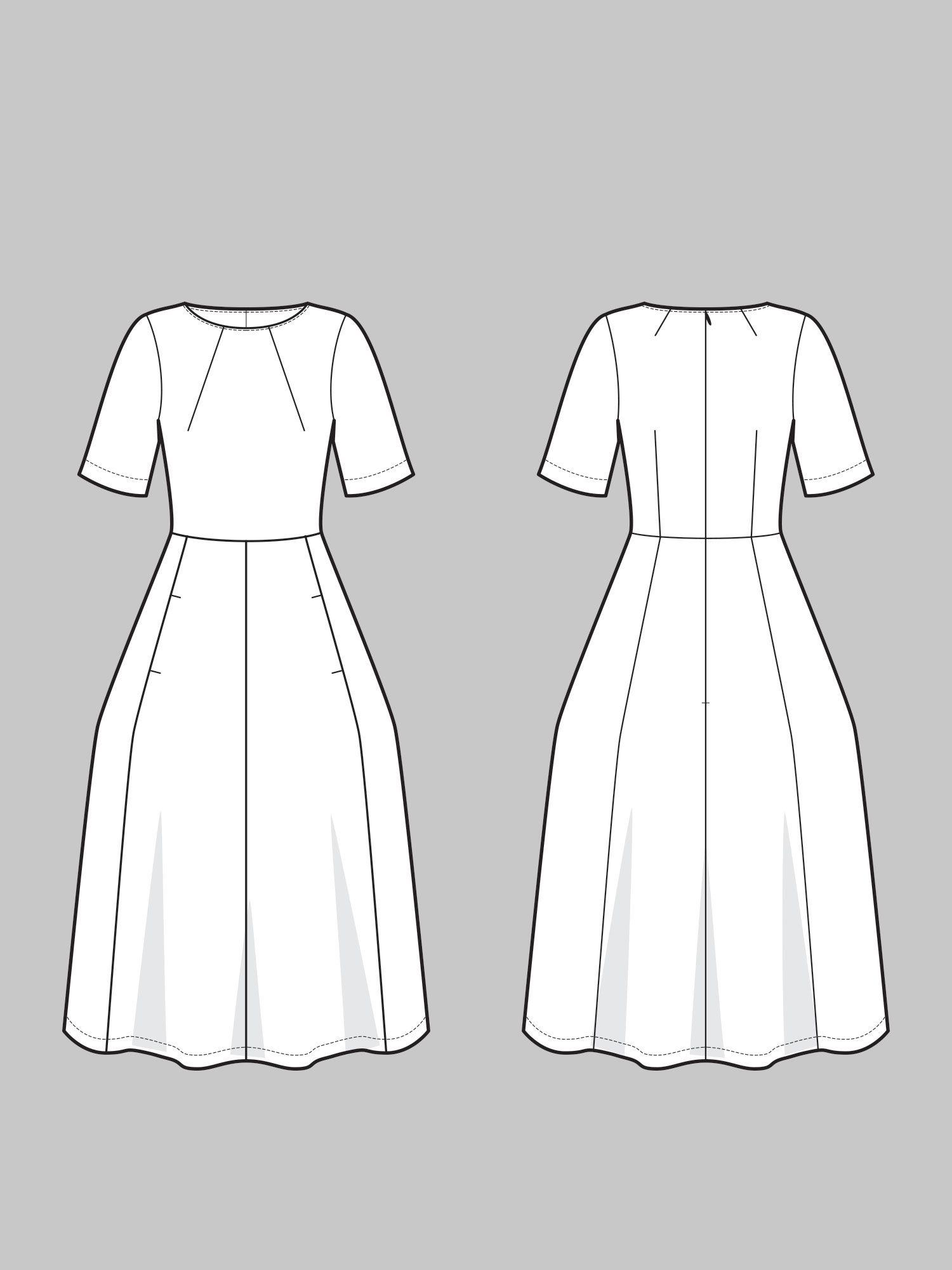 78cdc2178 AUDREY DRESS
