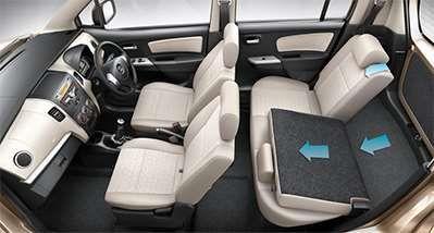 Wagonr Interiors Pics Foldable Rear Seats Wagon R Suzuki