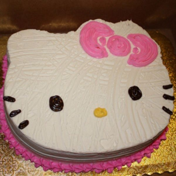 Cute cake I think I am going to order the HK cake mold and try to