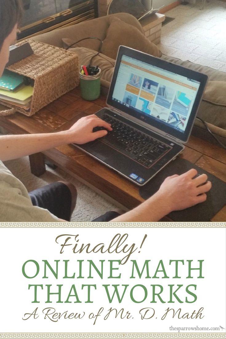 Finally, Online Math that Works: A Review of Mr. D. Math ...