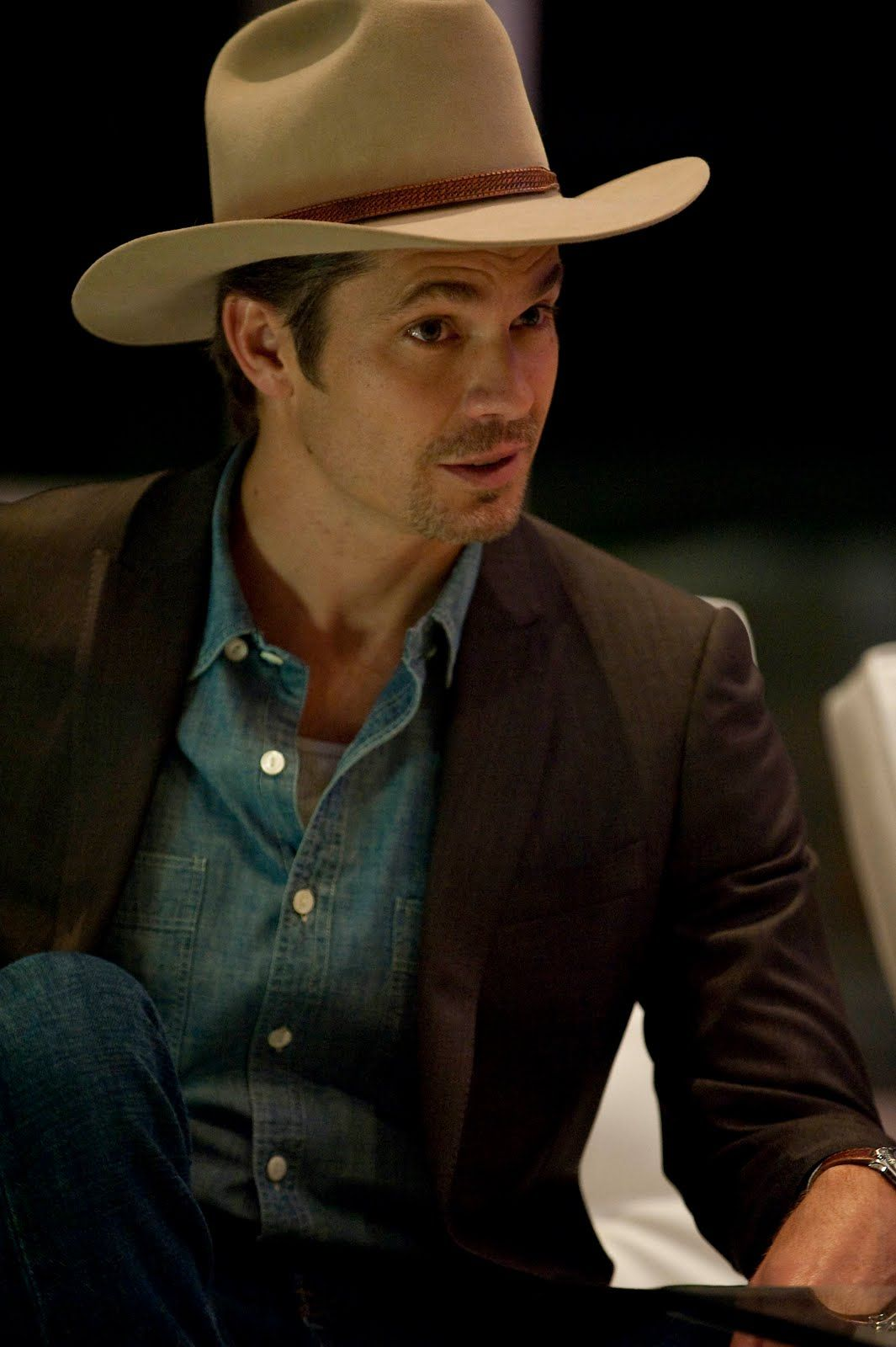 Timothy Olyphant as Raylan Givens. Enough said.   wildly ...
