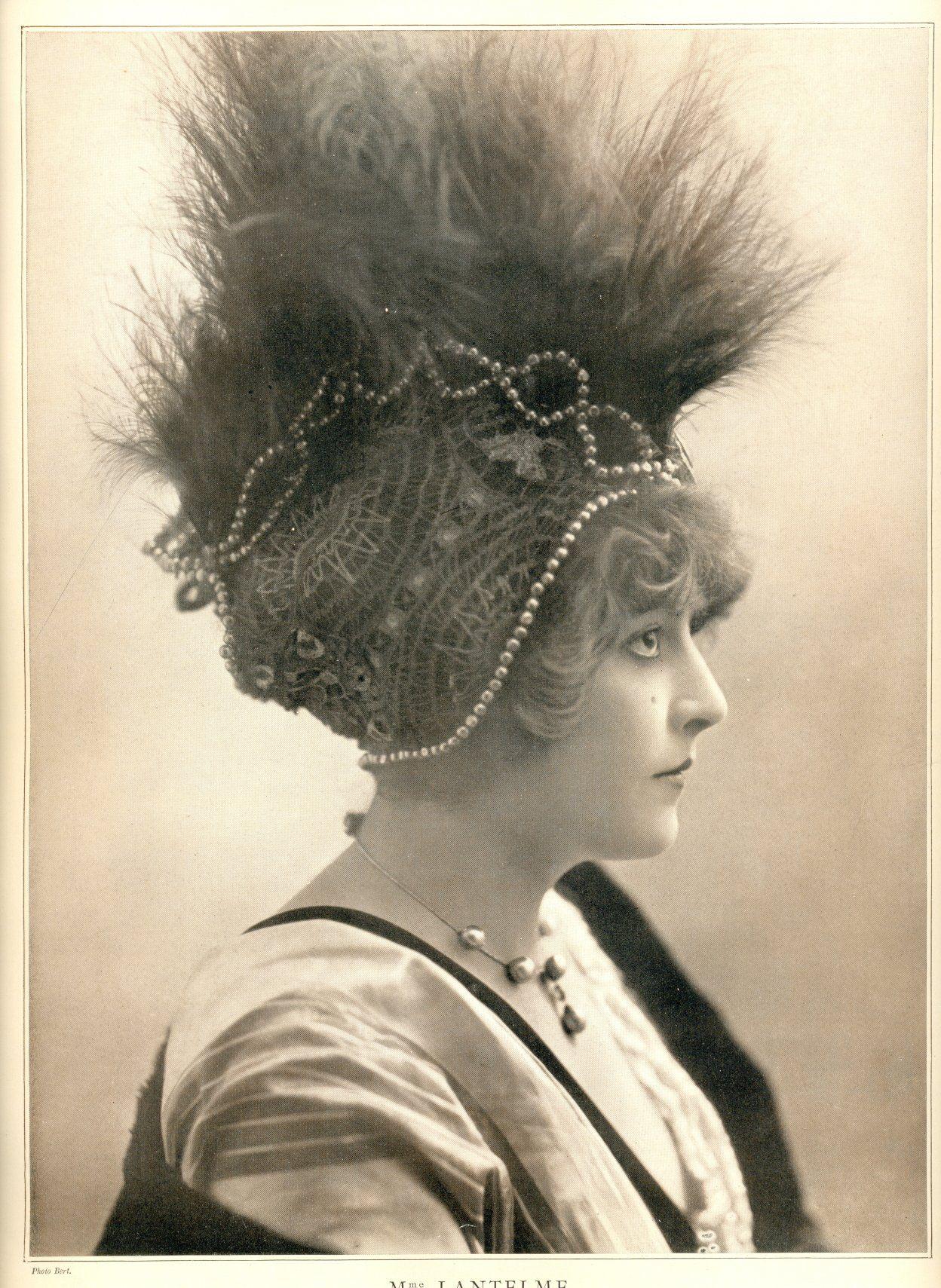 le theatre 303 1 aout 1911vkl Retro pictures, Portrait