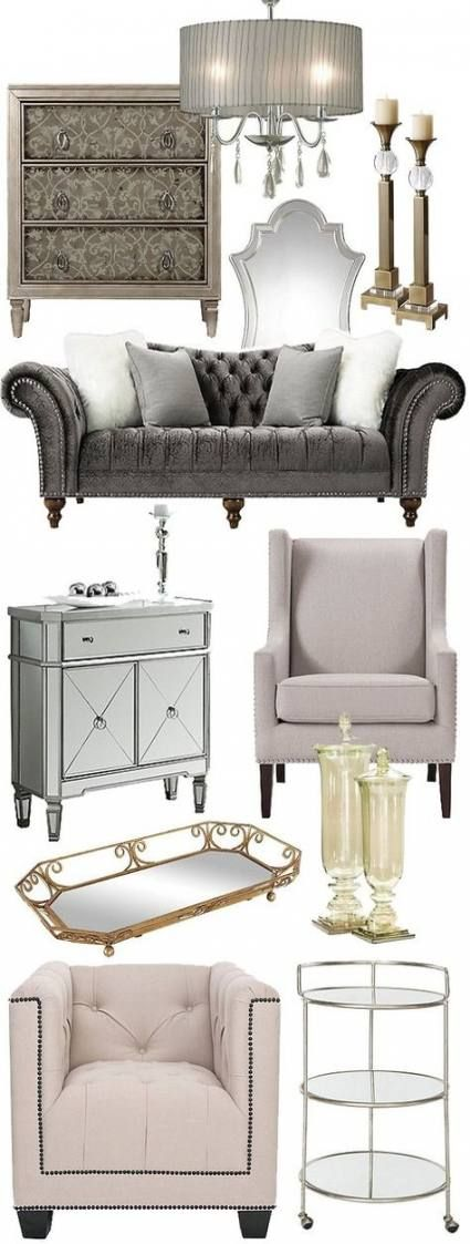 We may earn commission on some of the items you choose to buy. Best bedroom vintage glam interior design ideas | Classic ...