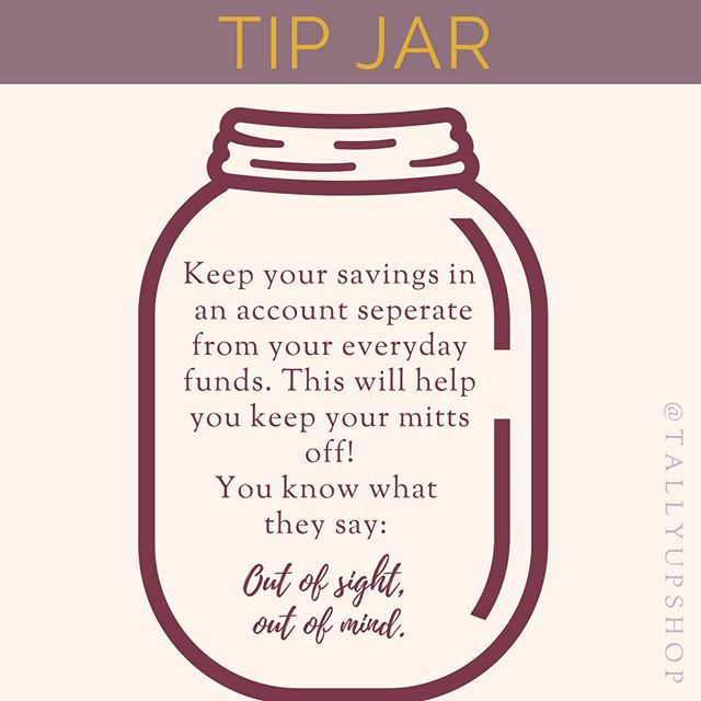Tallyup Shop On Instagram Since I Can T Get Enough Talking About Savings This Week Here S A Tip Jar This Is One Of The Things As Tip Jars Finance Tips Tips