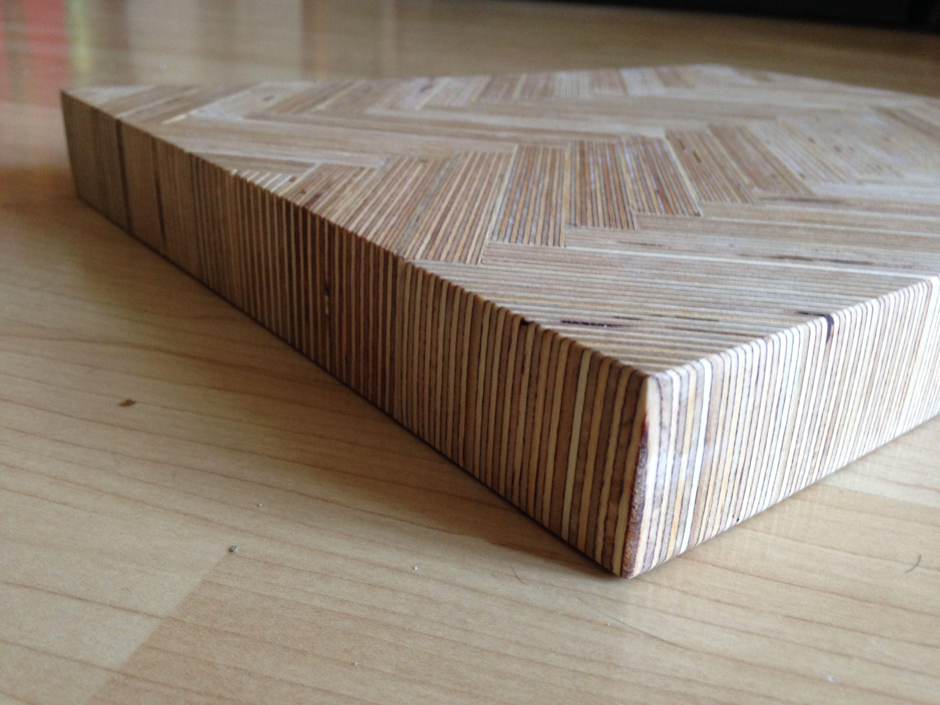 Whitewashed Plywood Table Plywood Table Plywood Desk Plywood