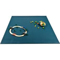 Photo of Yogilino® Krabbelmatte 160 x 160 cm in Deutschland hergestellt, blau YogaboxYogabox