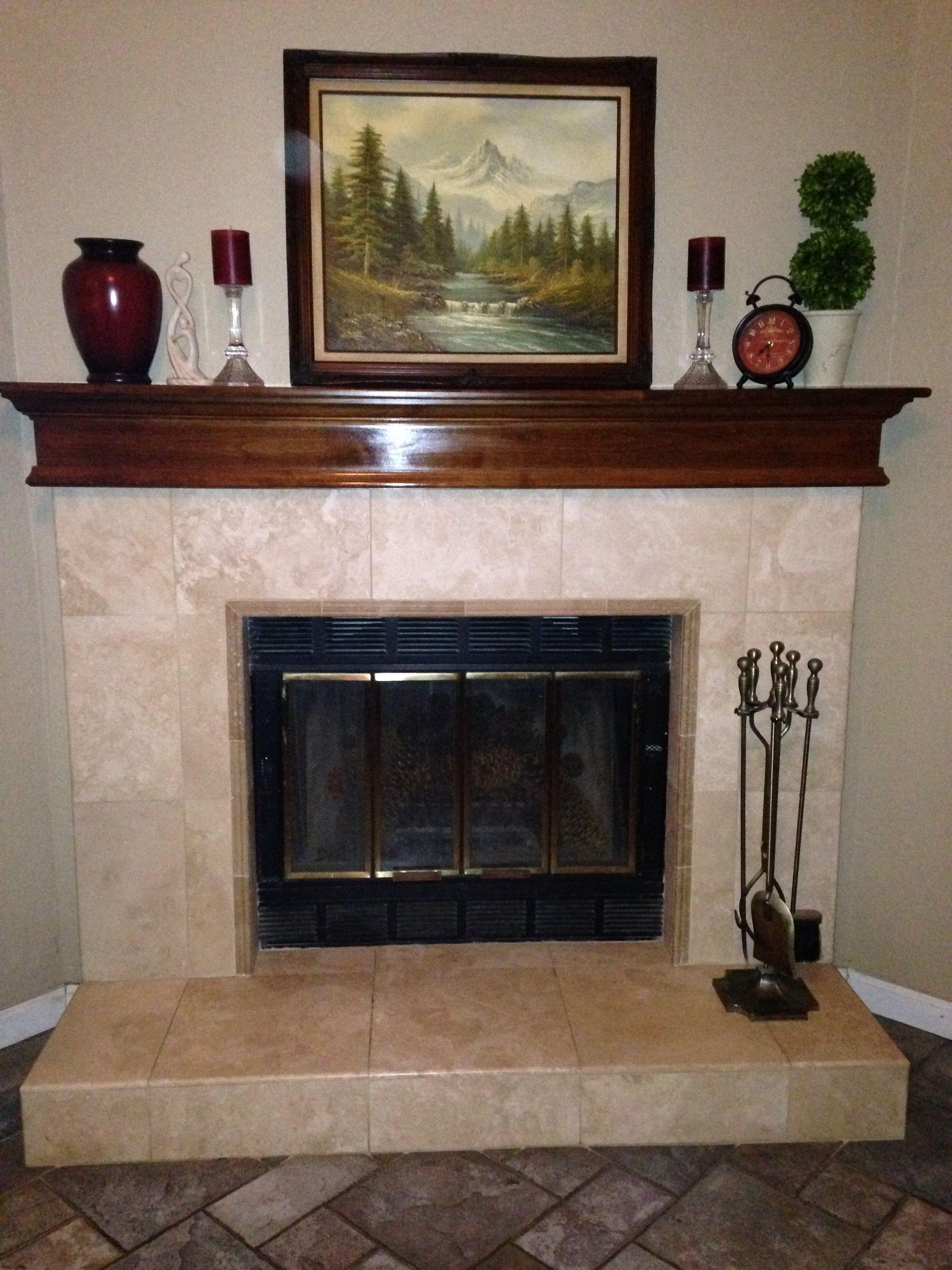 Travertine Fireplace By Mg Ceramic Tile Salida