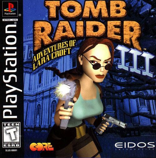 Complete Tomb Raider Iii 3 Ps1 Game Juegos Psx Juegos Retro