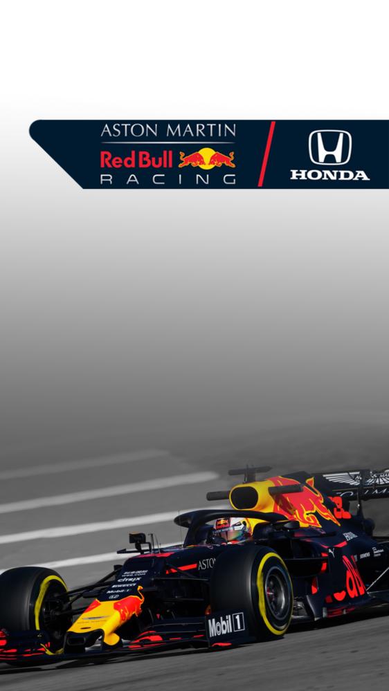 Red Bull Honda Wallpaper For Older Gen Iphones 1125 X 2000 Red