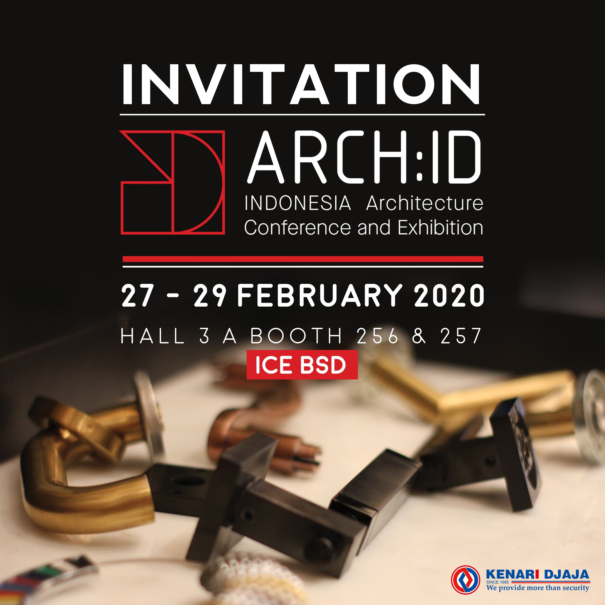 Pameran Arch.ID ICE Serpong di 2020 Indonesia, Tanggal