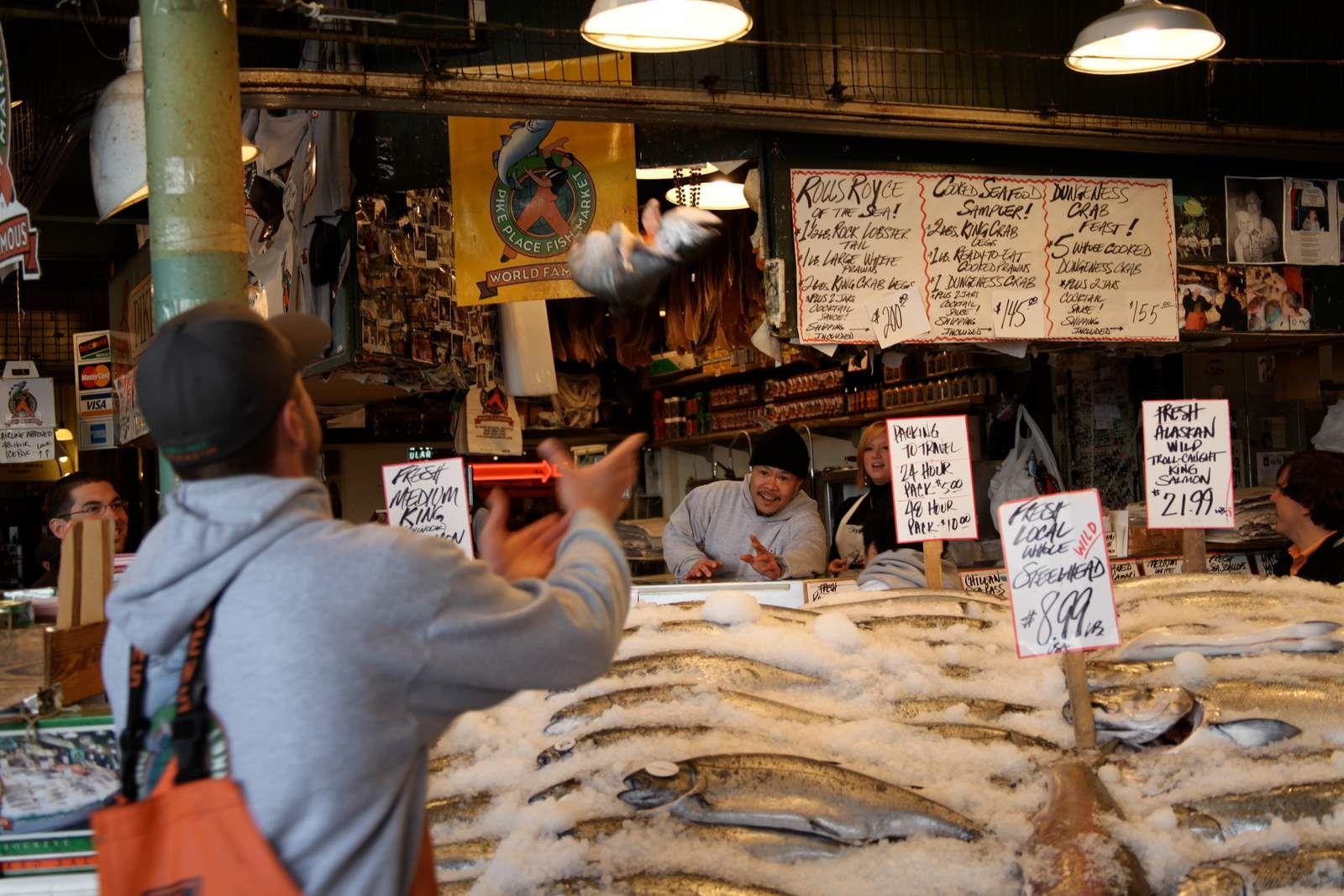 Pike Place Market Fish Toss 101