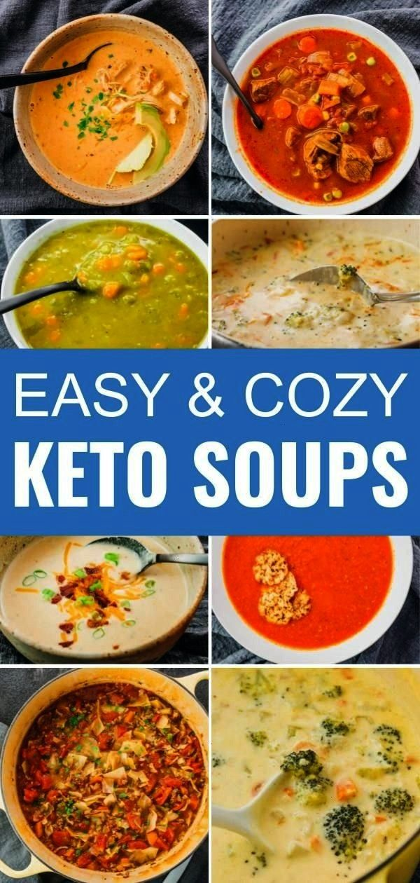 recipes for cozy and comforting soups, perfect for your low carb life. From stovetop to pressure co
